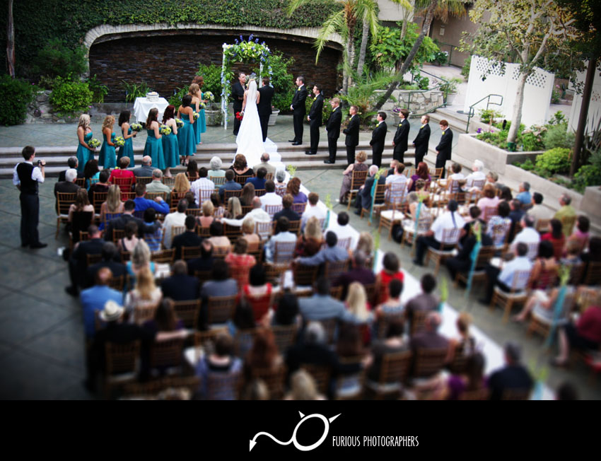 doubletree hotel claremont wedding
