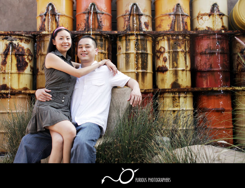 the lab engagement photography