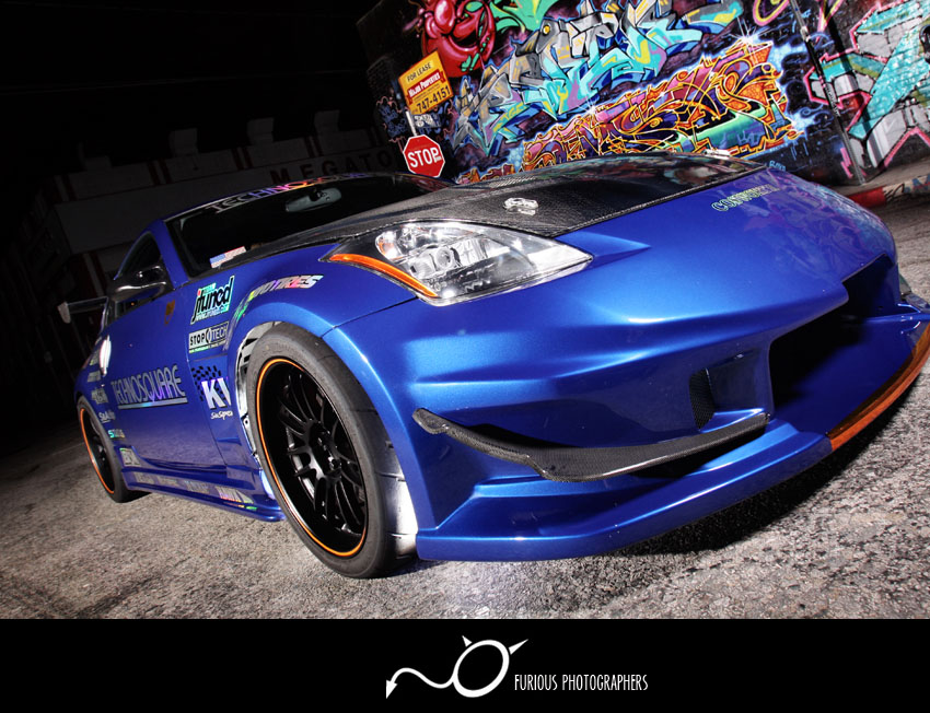 nissan 350z import race car