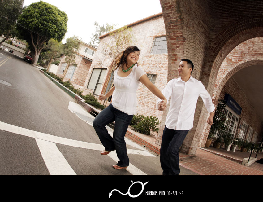 malaga cove engagement photography