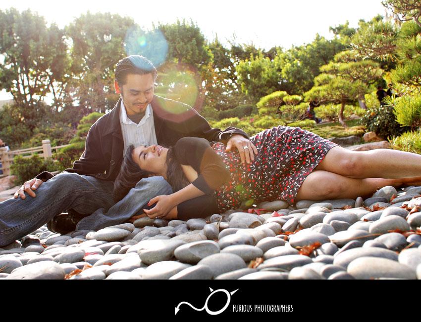 csu long beach engagement photography