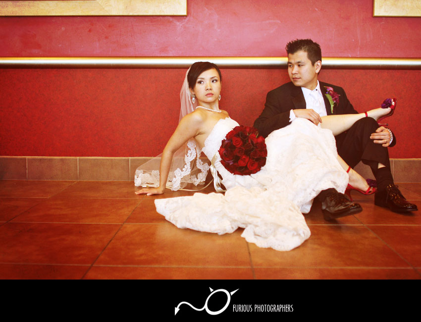 san gabriel hilton wedding photography