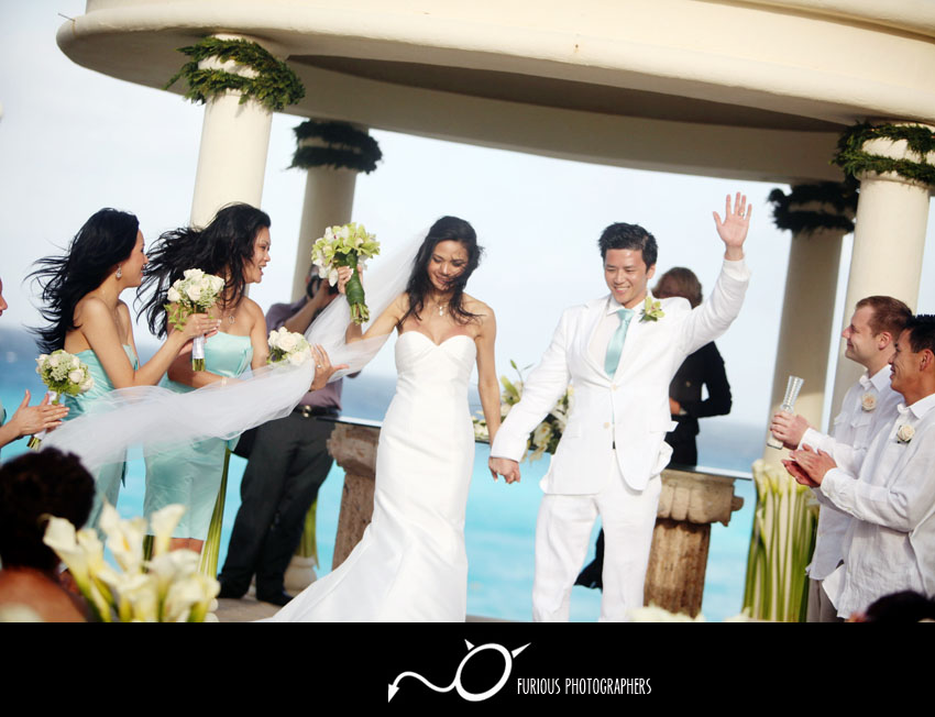 cancun mexico wedding pictures