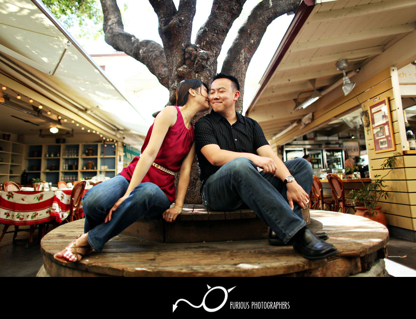 the grove engagement photography