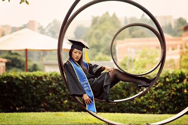 ucla college graduation portraits