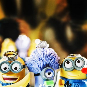 Minions helping out on this sweet wedding With endz elisevonghellip