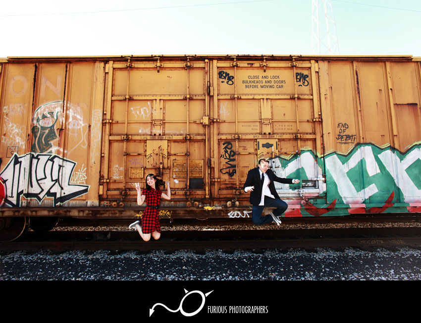 la engagement photographer