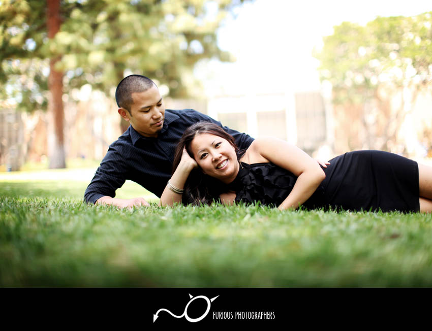 ucla engagement photography