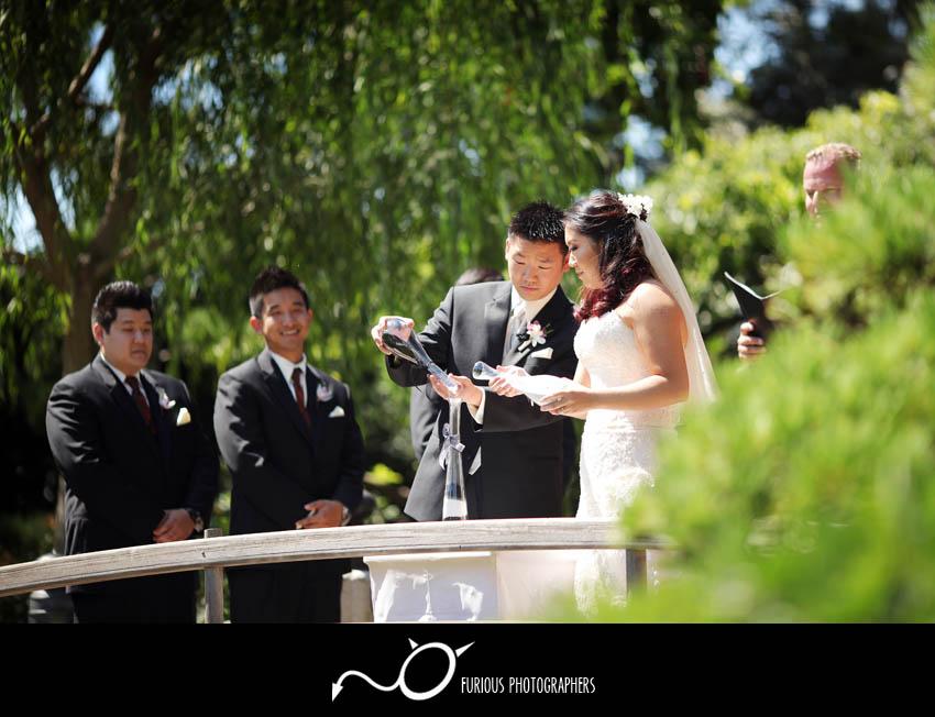 long beach japanese  garden wedding photography