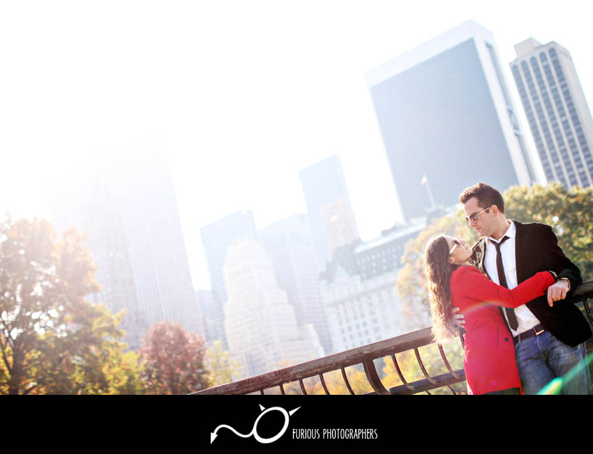 Destination New York Engagement Photography