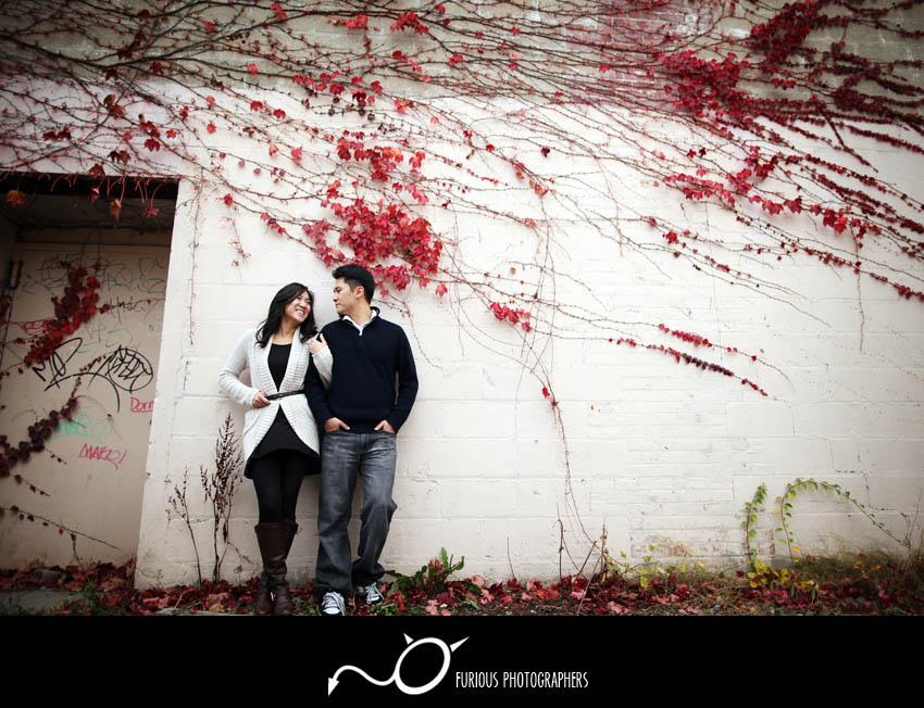 new york engagement photographs