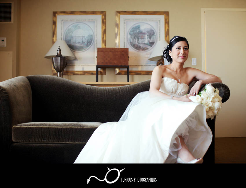 glendale hilton wedding photography