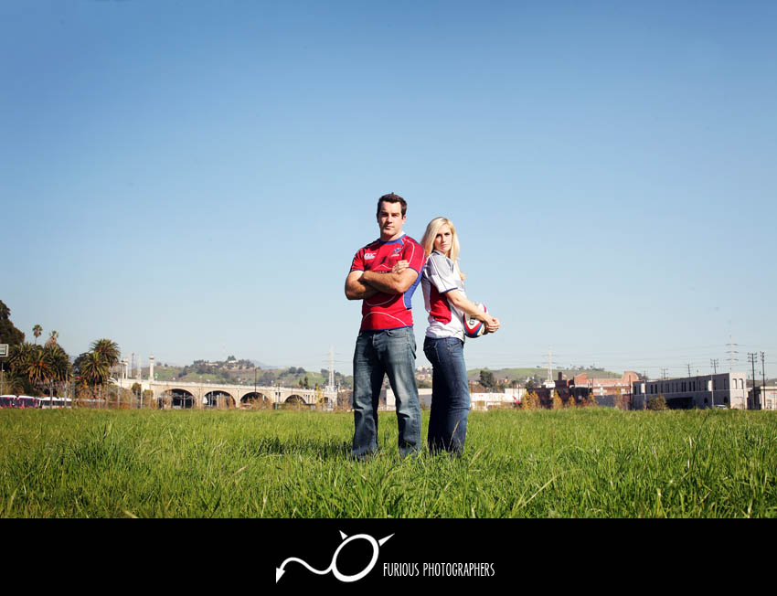 creative los angeles engagement photos