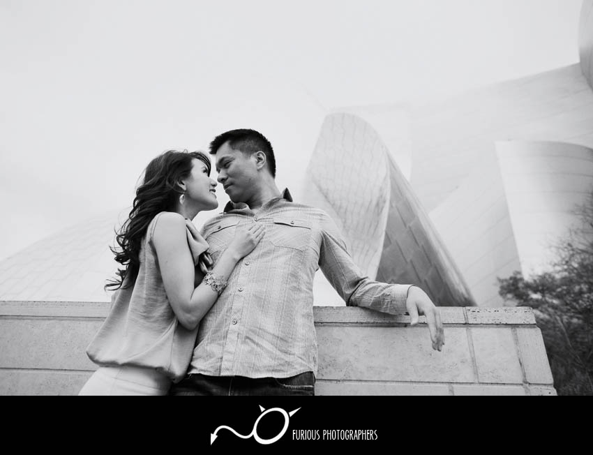 los angeles engagement pictures