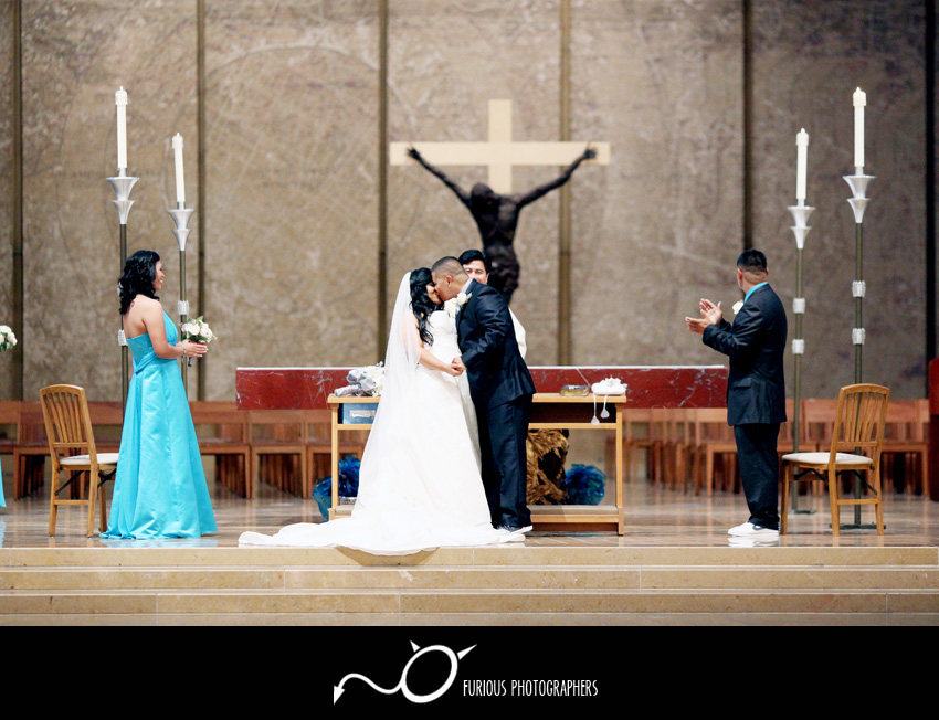Cathedral of our Lady of Angeles Wedding Photography