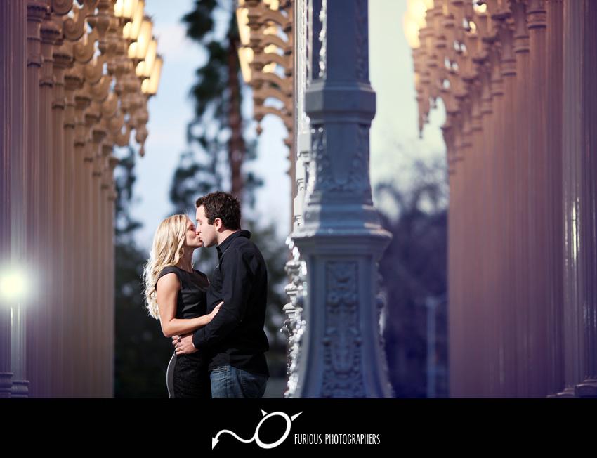 lacma engagement photos