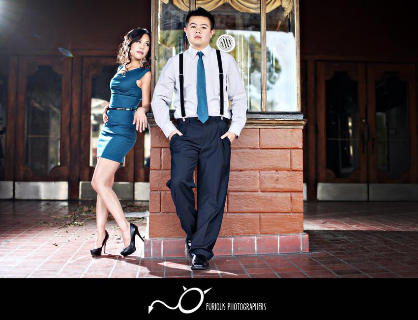 pasadena engagement photographs