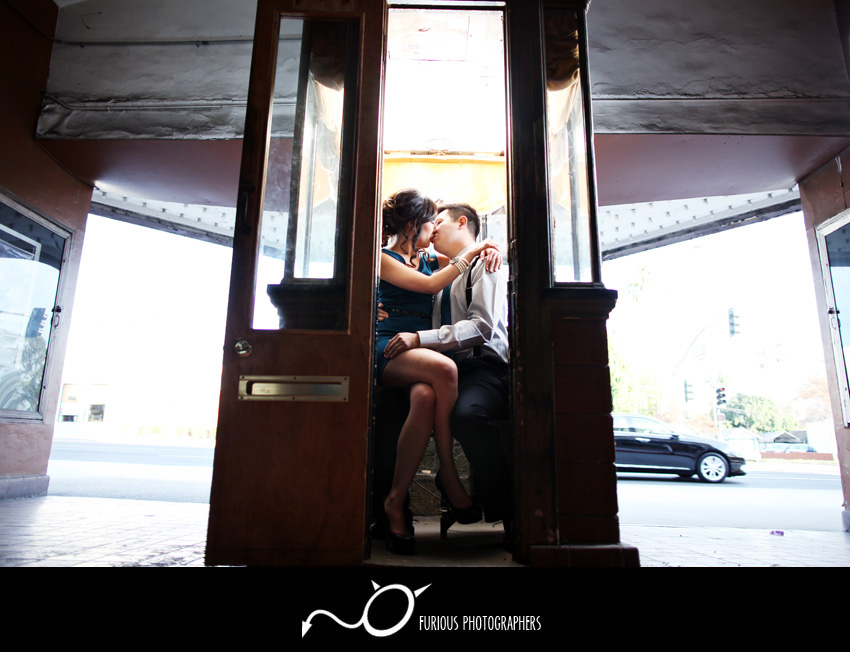 pasadena engagement photographs