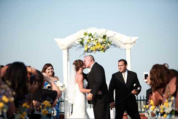 the reef wedding photography long beach