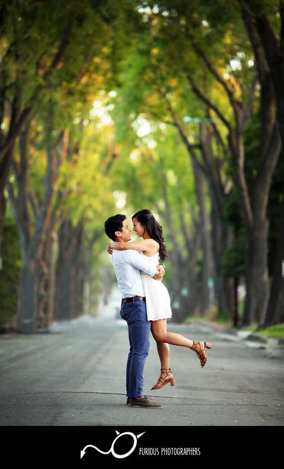 pasadena engagement photographer