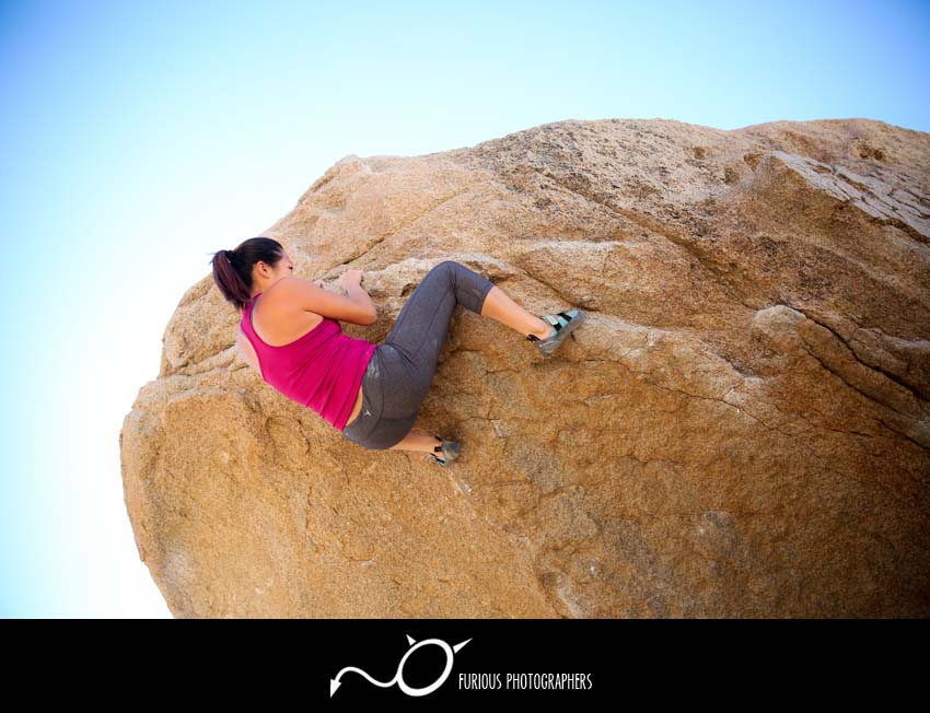 rock climbing photography