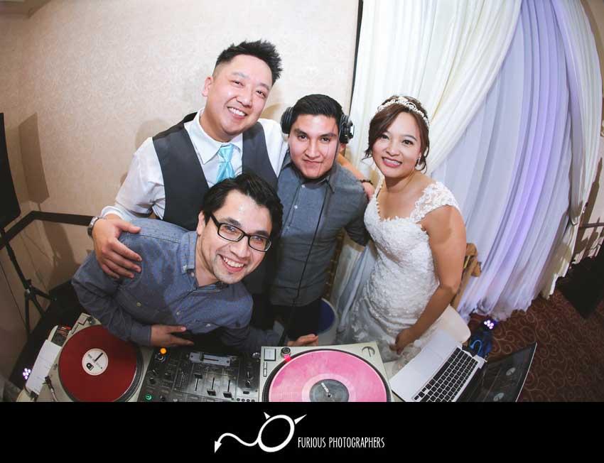 the villa west minster wedding