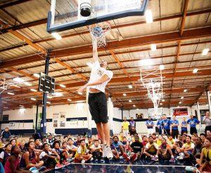 Kid Mr Larry Nance can you dunk? LN  Ballhellip